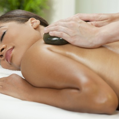 warm massage donkere huid